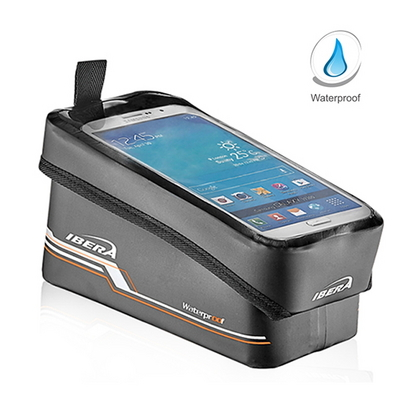 자전거 스마트폰 거치 가능 탑튜브가방 - 갤럭시노트 전기종 거치가능
