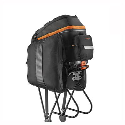 자전거 대용량 짐받이 가방 및 짐받이 랙 세트
