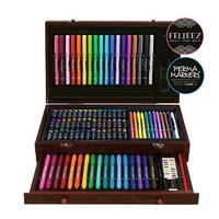 Wood Doodle 100P 색연필