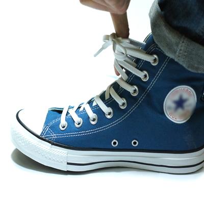 고무신발끈(하이탑용) - 신축성이 좋아 쉽게 신발착용가능