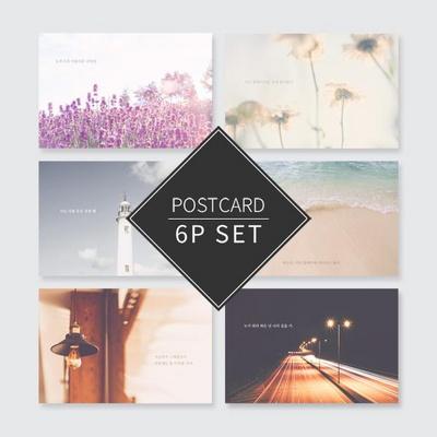 센티멘탈3 포스트카드 엽서세트 6P