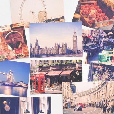 트래블 포스트카드 런던vol.3 엽서