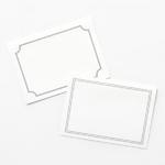 블랭크 폴딩 카드v2+봉투 5매 set