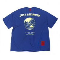 OVERSIZE EARTH TEE BLUE
