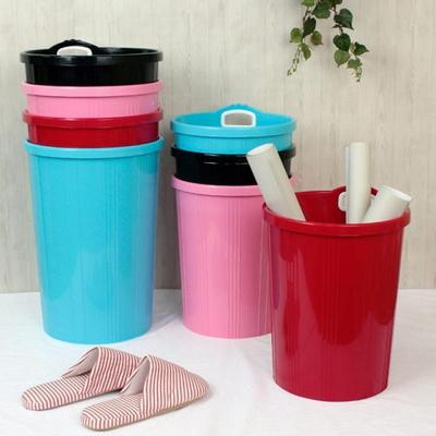 기린 휴지통 대형 다용도 정리함 쓰레기통 우산꽂이