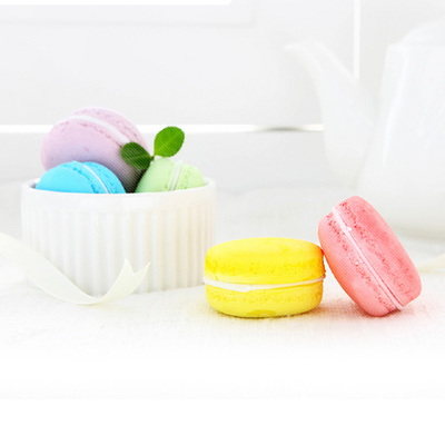 Scented Color Macaron 석고방향제