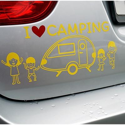 I Love Camping Sticker 아이러브캠핑 스티커