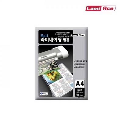 국산 무광 코팅필름 100MIC. A4