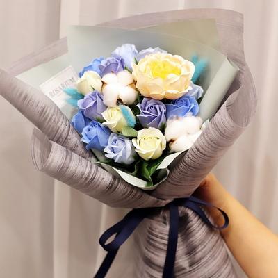작약 비누 졸업식 꽃다발