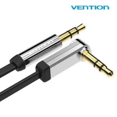 벤션 VENTION NEW AUX 케이블 블랙 무산소 TPE 3.5mm 금도금 단자