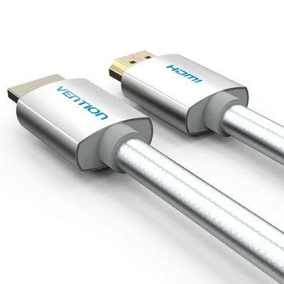 벤션 아이언실버 4K UHD HDMI 2.0 케이블-벨크로 증정