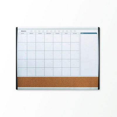 Quartet [달력] 콜크/자석 메모보드 M6 / 화이트 보드