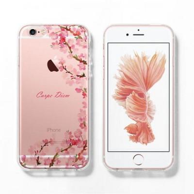 MOKSTER FLOWER 로즈골드 에디션 아이폰6S SOFT CASE