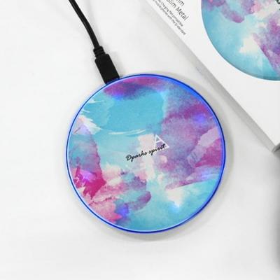 WATER COLOR BLUE - 무선충전 디자인패드