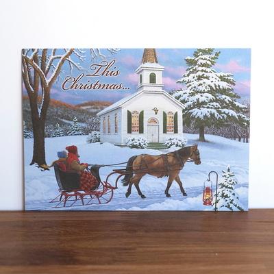 미국 직수입 성탄카드(성경구절) 11476