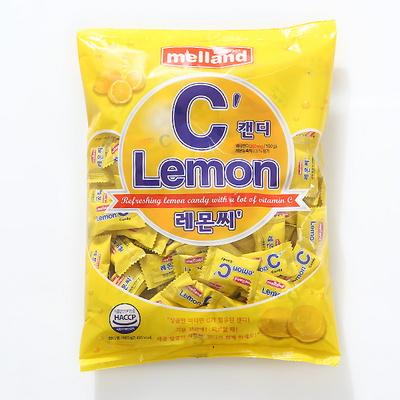 멜랜드 레몬씨 캔디(600g)