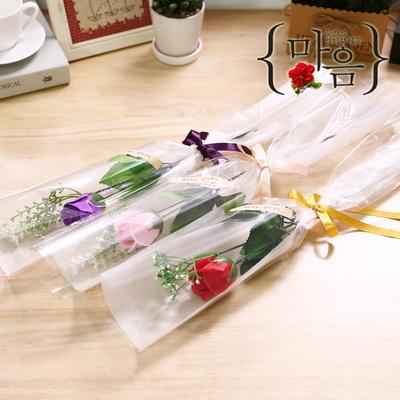 인크리코 한송이장미(레드) 화이트데이 선물 비누꽃다발