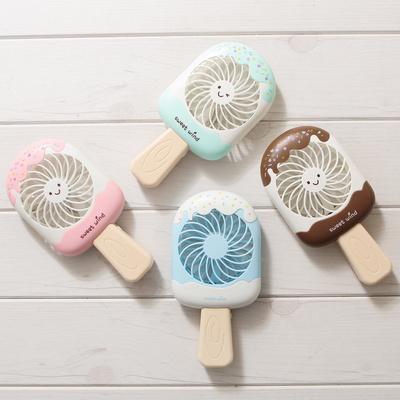 아이스크림 선풍기 미니선풍기 저소음 휴대용선풍기 핸디형