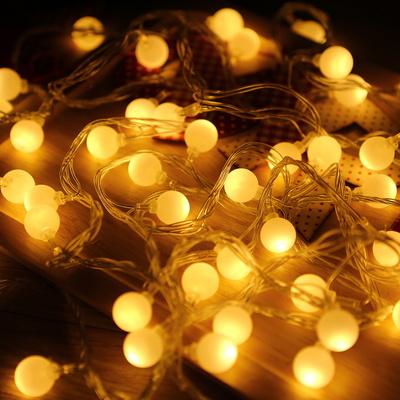 앵두전구 투명선 웜 크리스마스전구 LED전구 캠핑전구