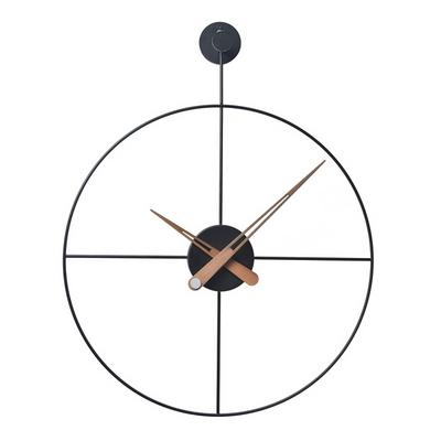 와이어 벽시계 원형(BK)