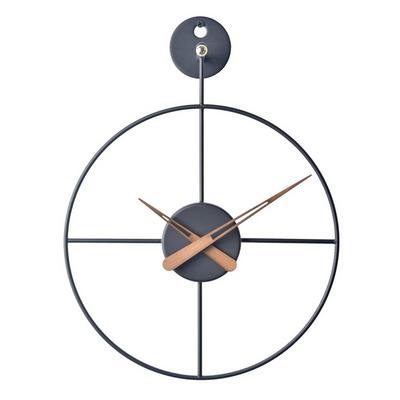 와이어 벽시계 미니(BK)
