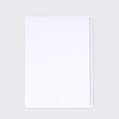 STARRY WHITE NOTEBOOK
