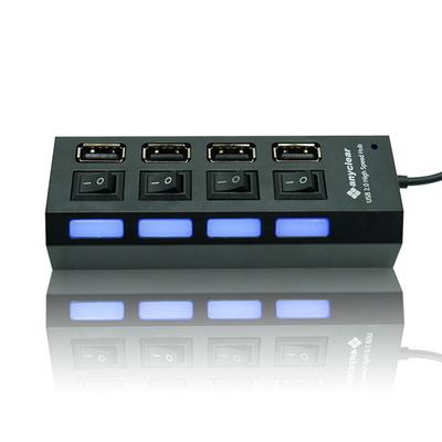 애니클리어 USB 2.0 허브 4포트 커넥터 HUB204
