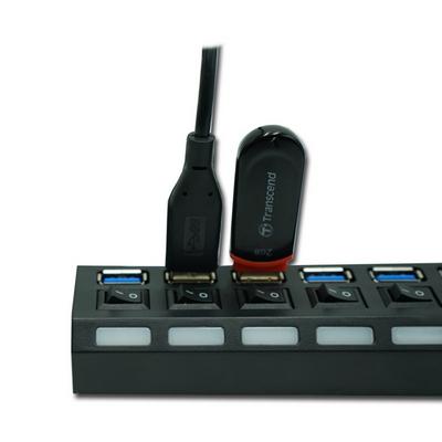 애니클리어 USB 3.0 허브 7포트 커넥터 HUB307