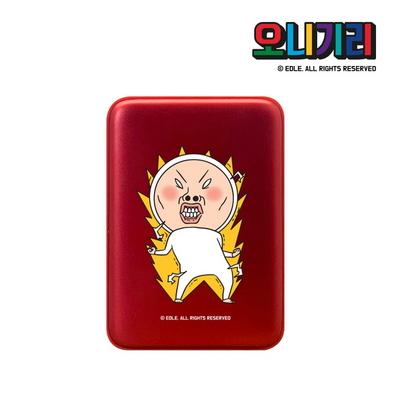 오니기리 캐릭터 USB 손난로 보조배터리 5000mAh HOT9