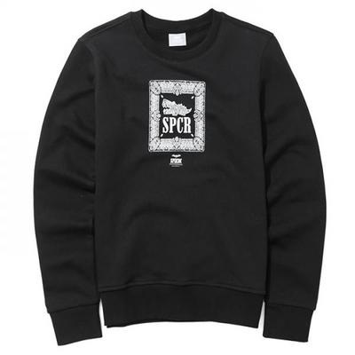 슈퍼크록 스템플링 스웨트셔츠 블랙