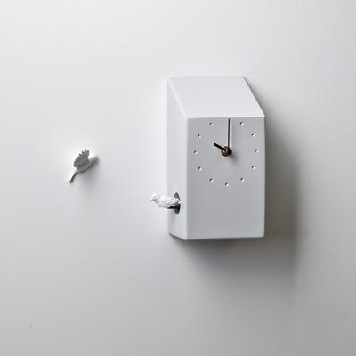 하오스 쿠쿠 벽시계 - 홈 (라이트 그레이)
