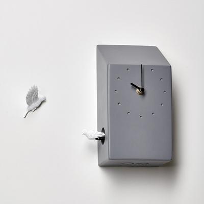 하오스 쿠쿠 벽시계 - 홈 (다크 그레이)