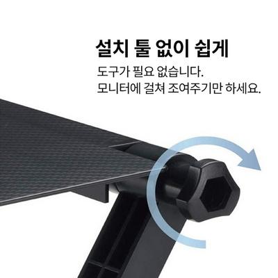 공유기거치대 셋탑박스거치대 TV선반거치대 사운드바
