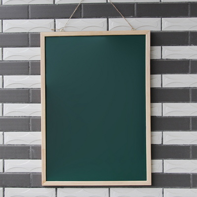우드 분필보드 칠판 카페 벽걸이 현황판
