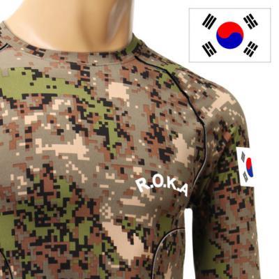기모발열 디지털 래쉬가드 ROKA 로카티셔츠 입체봉제