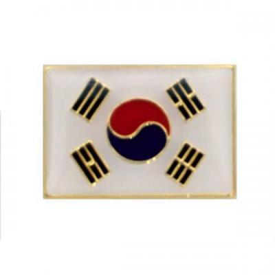 군대 정복 태극기 뱃지/와펜 군인뱃지