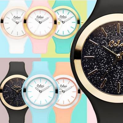 컬러리 마카롱 시계 패션시계 커플시계