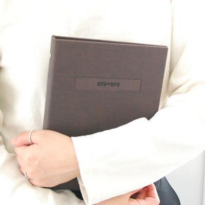 프리미엄 이니셜 임신다이어리 태교일기-10색상