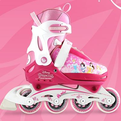 디즈니 프린세스 인라인스케이트 핑크