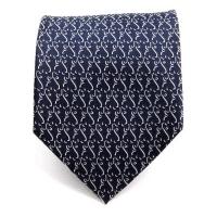 GENTLEANT 딥네이비 삼각무늬 수동넥타이