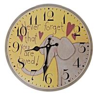 러브 유얼셀프 빈티지 우드워치 벽시계 인테리어시계