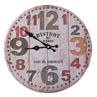 엔틱 보르도 빈티지 우드워치 벽시계 인테리어시계