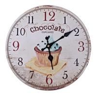엔틱 초콜렛 빈티지 우드워치 벽시계 인테리어시계