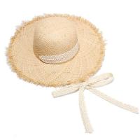 레이스 라피아 밀짚모자 여름모자 CH1446180
