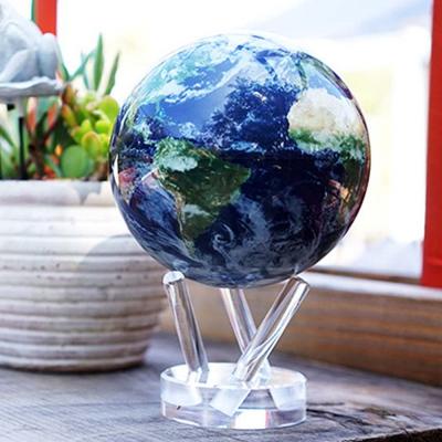 빛만 있으면 OK 자가회전 Satellite View 지구본 특대