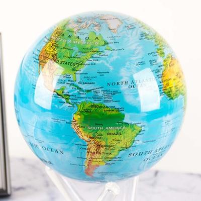 빛만 있으면 OK 자가회전구 지세도 지구본 114mm