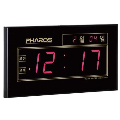 공간 인테리어 디지털 전자벽시계 MUH-320F CH1560631