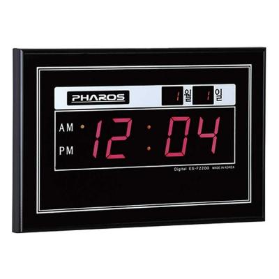 공간인테리어 디지털 전자벽시계 MUH-2200F CH1560633