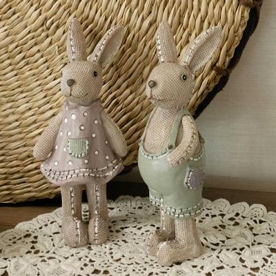 Bonito Modern conejo 커플 장식 2P CH1639376