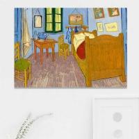 주문제작 액자 고흐 Bedroom in Arles 841x594x30mm